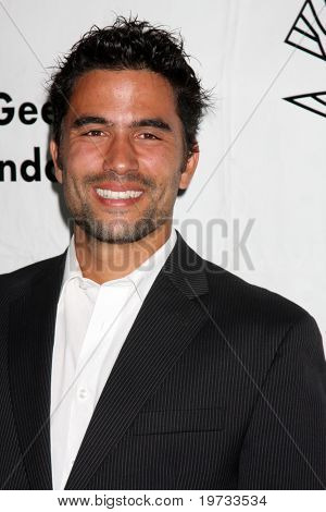 LOS ANGELES - OCT 9:  Ignacio Serricchio arrives at the