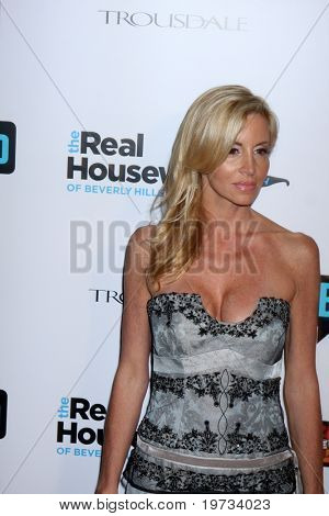"LOS ANGELES - OCT 11:  Camille Grammer arrives at the ""Real Housewives of Beverly Hlls"" Premiere Party at Trousdale.Theatre on October 11, 2010 in West Hollywood, CA"