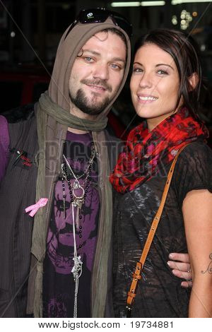 LOS ANGELES - OCT 13:  Bam Margera arrives  at the