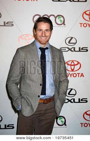 LOS ANGELES - OCT 16:  Sam Jaeger arrives at the 2010 Environmental Media Awards at Warner Brothers Studios on October 16, 2010 in Burbank, CA