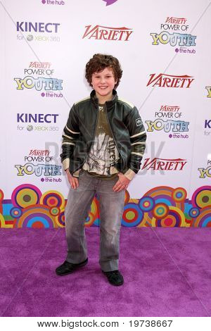 LOS ANGELES - OCT 24:  Nolan Gould arrives at the Variety Power of Youth Event 2010 at Paramount Studios on October 24, 2010 in Los Angeles, CA