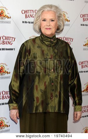 LOS ANGELES - OCT 30:  Sally Ann Howes arrives at the Chitty Chitty Bang Bang LA Screening at Pacific Theaters at The Grove on October 30, 2010 in Los Angeles, CA