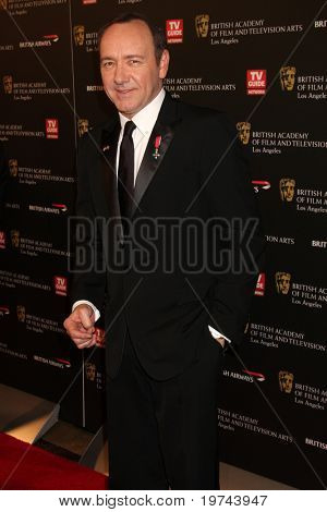 LOS ANGELES - NOV 4:  Kevin Spacey arrives at the 19th Annual BAFTA Los Angeles Britannia Awards at Hyatt Regency Century Plaza on November 4, 2010 in Century City, CA
