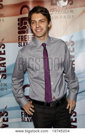 LOS ANGELES - NOV 7:  Ryan Devlin arrives at the 2010 Freedom Awards  at Redondo Beach Performing Arts Center on November 7, 2010 in Redondo Beach, CA