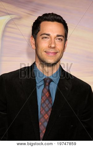 "LOS ANGELES - NOV 14:  Zachary Levi arrives at the ""Tangled"" World Premiere at El Capitan Theater on November 14, 2010 in Los Angeles, CA"