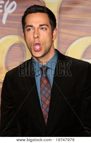 """LOS ANGELES - NOV 14:  Zachary Levi arrives at the """"Tangled"""" World Premiere at El Capitan Theater on November 14, 2010 in Los Angeles, CA"""