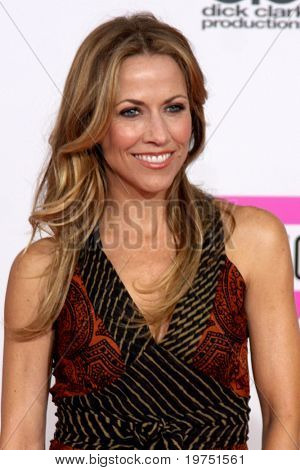 LOS ANGELES - NOV 21:  Sheryl Crow arrives at the 2010 American Music Awards at Nokia Theater on November 21, 2010 in Los Angeles, CA