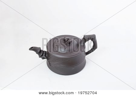 Traditional Pottery Teapot