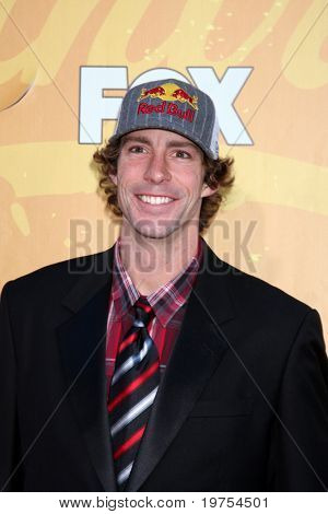 LAS VEGAS - DEC 6:  Travis Pastrana arrives at the 2010 American Country Awards at MGM Grand Garden Arena on December 6, 2010 in Las Vegas, NV.