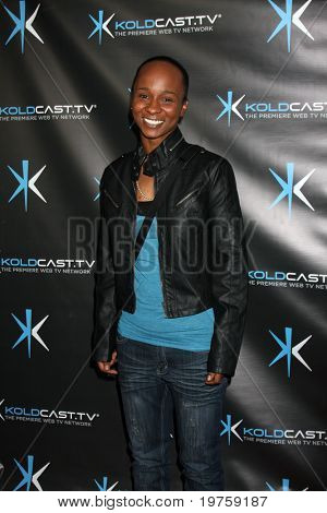 "LOS ANGELES - DEC 14:  Amber Alert (Hip Hop Artist) attends the ""Miss Behave"" Season Two Premiere Party at Flappers Comedy Club on December 14, 2010 in Burbank, CA."
