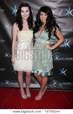 LOS ANGELES - DEC 14:  Jillian Clare, Bianca Magick attend the