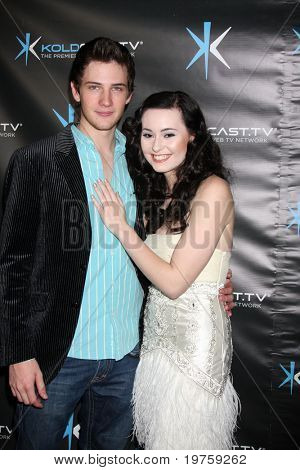 "LOS ANGELES - DEC 14:  Michael Christopher Bolten, Jillian Clare attend the ""Miss Behave"" Season Two Premiere Party at Flappers Comedy Club on December 14, 2010 in Burbank, CA."