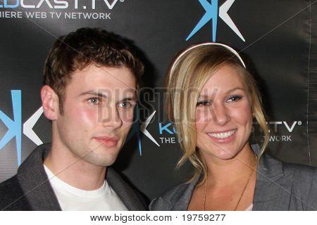 LOS ANGELES - DEC 14:  David Cade, Natasha Lloyd attend the