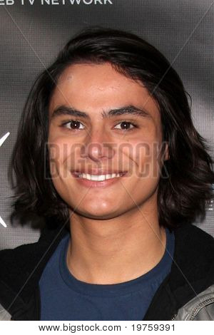 """LOS ANGELES - DEC 14:  Kiowa Gordon attends the """"Miss Behave"""" Season Two Premiere Party at Flappers Comedy Club on December 14, 2010 in Burbank, CA."""