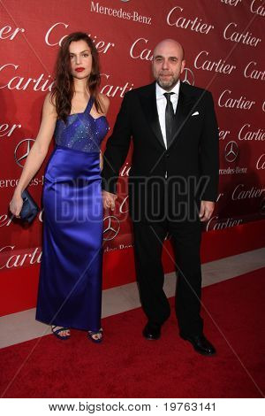 PALM SPRINGS - JAN 8: Micaela Ramazzotti and Paolo  Nirzi arrive at the Palm Springs International Film Festival 2011 Awards Gala at Palm Springs Convention Center on January 8, 2011 in Palm Springs, CA.