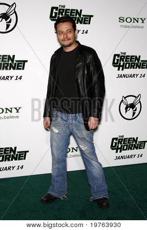 "LOS ANGELES - JAN 10:  Eddie Furlong arrives at the ""Green Hornet"" Premiere at Grauman's Chinese Theater on January 10, 2011 in Los Angeles, CA"