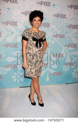 LOS ANGELES - JAN 11:  Jasika Nicole arrives at the FOX TCA Winter 2011 Party at Villa Sorriso on January 11, 2011 in Pasadena, CA