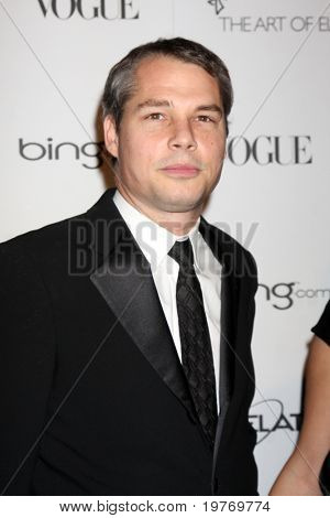 LOS ANGELES - JAN 15:  Shepard Fairey arrives at the Art Of Elysium 'Heaven' Gala 2011 at The California Science Center Exposition Park  on January 15, 2011 in Los Angeles, CA