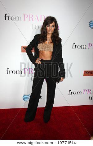 LOS ANGELES - JAN 18:  Camilla Belle arrives at