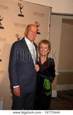 LOS ANGELES - JAN 20:  George Englund, Cloris Leachman arrives at the ATASHall of Fame Committe's 20th Annual Induction Gala at Beverly HIlls Hotel on January 20, 2011 in Beverly Hills, CA