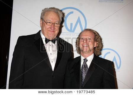BEVERLY HILLS - JAN 22:  Don Mischner, Bruce Cohen arrives at the 22nd Annual Producers Guild Awards at Beverly Hilton Hotel on January 22, 2011 in Beverly Hills, CA