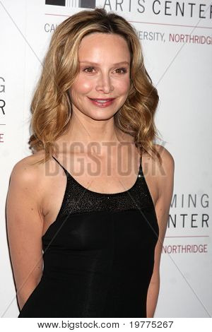 LOS ANGELES - JAN 29:  Calista Flockhart arrives at the Valley Performing Arts Center Opening Gala at California State University, Northridge on January 29, 2011 in Northridge, CA