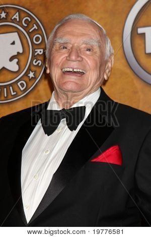 LOS ANGELES - JAN 30:  Life Achievement Award recipient Ernest Borgnine in the Press Room at the 2011 Screen Actors Guild Awards  at Shrine Auditorium on January 30, 2011 in Los Angeles, CA