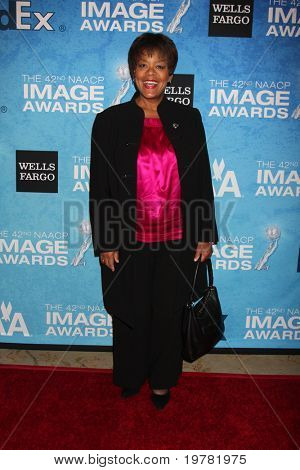 LOS ANGELES - FEB 12:  Yvette Freeman arrives at the 2011 NAACP Image Awards Nominee Reception at Beverly Hills Hotel on February 12, 2011 in Beverly Hills, CA