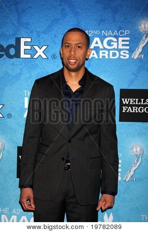 LOS ANGELES - FEB 12:  Affion Crockett arrives at the 2011 NAACP Image Awards Nominee Reception at Beverly Hills Hotel on February 12, 2011 in Beverly Hills, CA