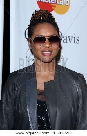 LOS ANGELES - FEB 12:  MC Lyte arrives at the 2011 Pre-GRAMMY Gala And Salute To Industry Icons  at Beverly Hilton Hotel on February 12, 2011 in Beverly Hills, CA