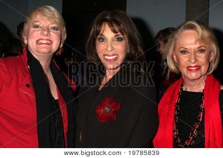 LOS ANGELES - FEB 18:  Alison Arngrim, Kate Linder, Tippi Hedren at the VDay - Vagaina Monologues Performance at Barnsdall Gallery Theater on February 18, 2011 in Los Angeles, CA