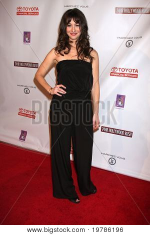 LOS ANGELES - FEB 20:  Kat Foster arrives at the 24 Hour Hollywood Rush at Ebell Theater on February 20, 2011 in Los Angeles, CA