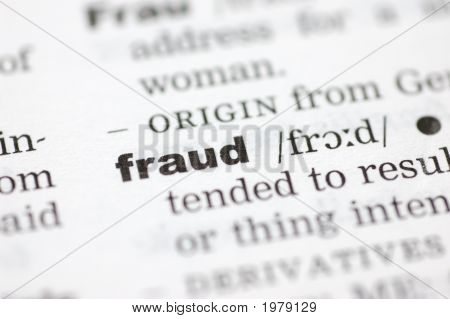 Definition von Betrug