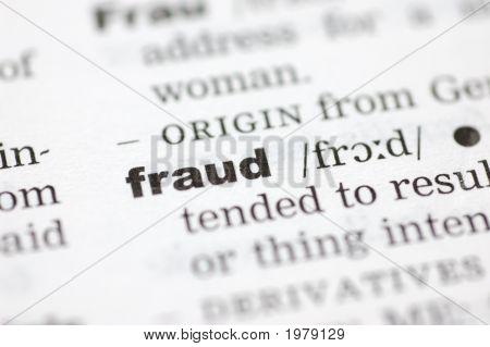 Definición de fraude