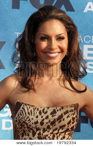 LOS ANGELES -  MARCH 4: Salli Richardson arriving at the 42nd NAACP Image Awards at Shrine Auditorium on March 4, 2011 in Los Angeles, CA