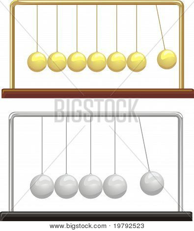 newton`s cradle - physics