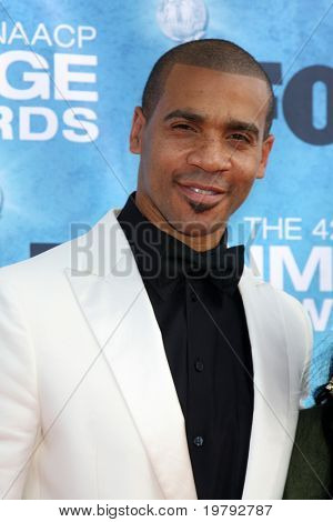 LOS ANGELES -  MARCH 4: Aaron D. Spears arriving at the 42nd NAACP Image Awards at Shrine Auditorium on March 4, 2011 in Los Angeles, CA