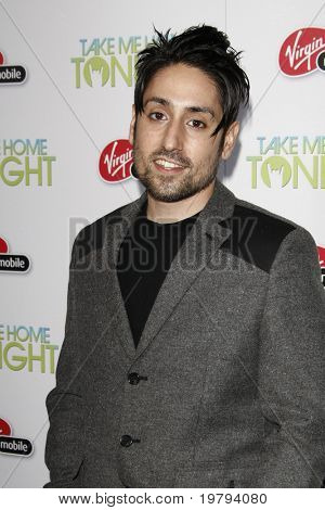"LOS ANGELES - MARCH 2: Omar Doom arrives at the ""Take Me Home Tonight"" Premiere at Regal LA Live Theater on March 2, 2011 in Los Angeles, CA"
