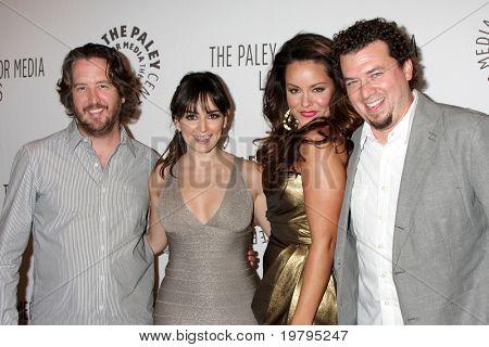LOS ANGELES - MARCH 10: Steve Little, Ana de la Reguera, Katy Mixon, Danny McBride arrives at the
