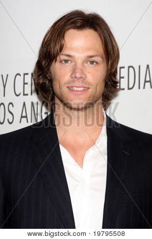 "Los Angeles mar 13: Jared Padalecki kommt in die ""supernatural"" Paleyfest 2011 Saban Theater"