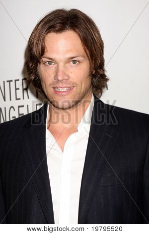 """LOS ANGELES - MAR 13:  Jared Padalecki arrives at the """"Supernatural"""" PaleyFest 2011 at Saban Theatre on March 13, 2011 in Beverly Hills, CA"""