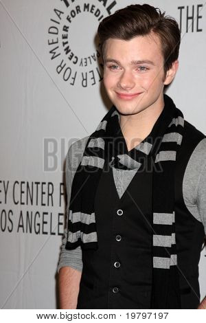 LOS ANGELES - MAR 16:  Chris Colfer arriving at the