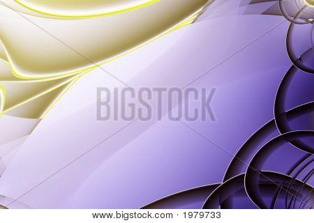 Indigo And Gold Design
