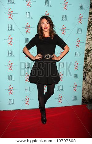 LOS ANGELES - MAR 18:  Elizabeth Hendrickson  arriving at The Young & the Restless 38th Anniversary Party Hosted by The Bell Family at Avalon Hotel on March 18, 2011 in Beverly HIlls, CA