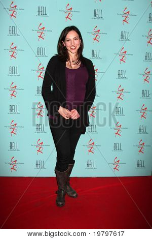 LOS ANGELES - MAR 18:  Eden Riegel  arriving at The Young & the Restless 38th Anniversary Party Hosted by The Bell Family at Avalon Hotel on March 18, 2011 in Beverly HIlls, CA