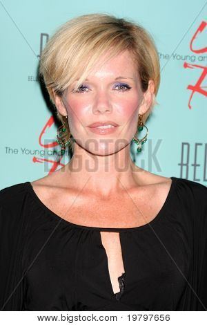 LOS ANGELES - MAR 18:  Maura West arriving at The Young & the Restless 38th Anniversary Party Hosted by The Bell Family at Avalon Hotel on March 18, 2011 in Beverly HIlls, CA