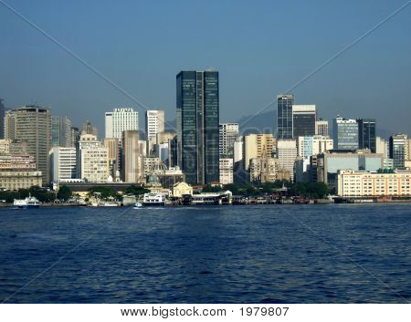 Rio De Janeiro Downtown View