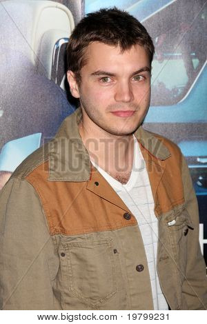 LOS ANGELES - MAR 22:  Emile Hirsch arrives at the HBO's