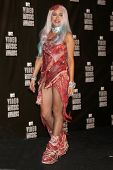 LOS ANGELES - SEP 12:  Lady Gaga in the Press Room  at the 2010 MTV Video Music Awards  at Nokia - L