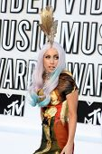 LOS ANGELES - SEP 12:  Lady Gaga arrives at the 2010 MTV Video Music Awards  at Nokia - LA Live on S